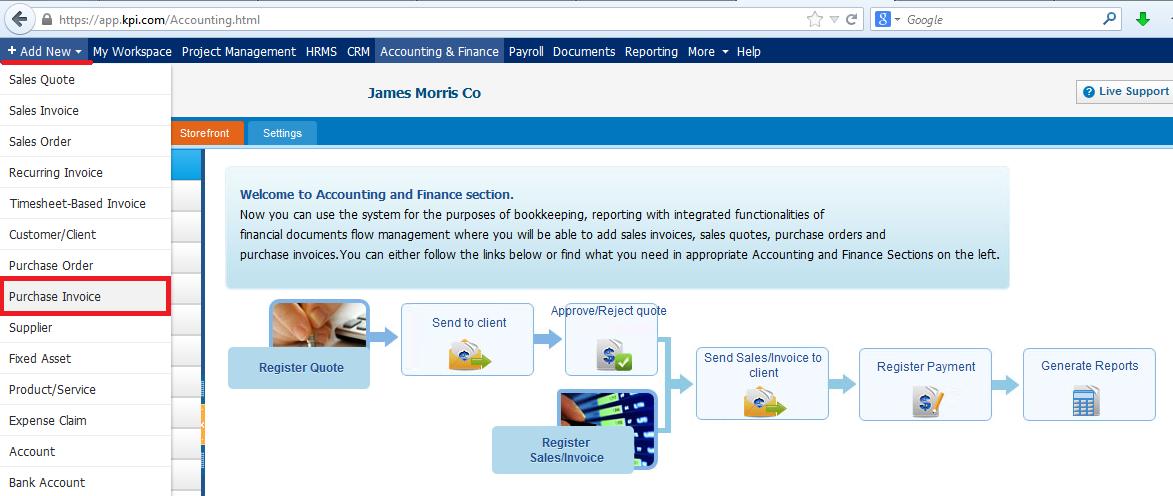 Purchase Invoice