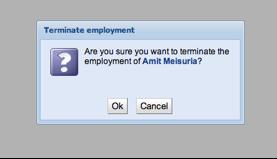 Terminate Employment