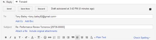 E-mail Integration