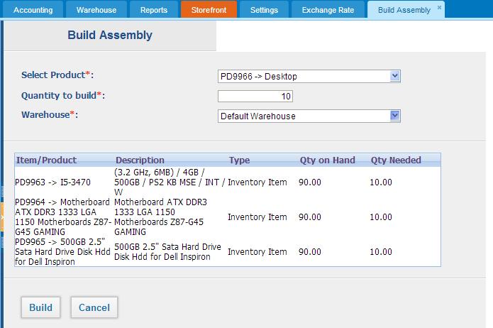 Assembly Item