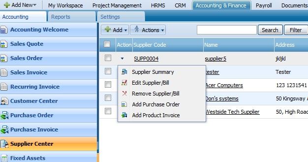 Supplier Action List 2
