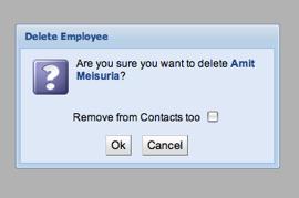 Remove Employee