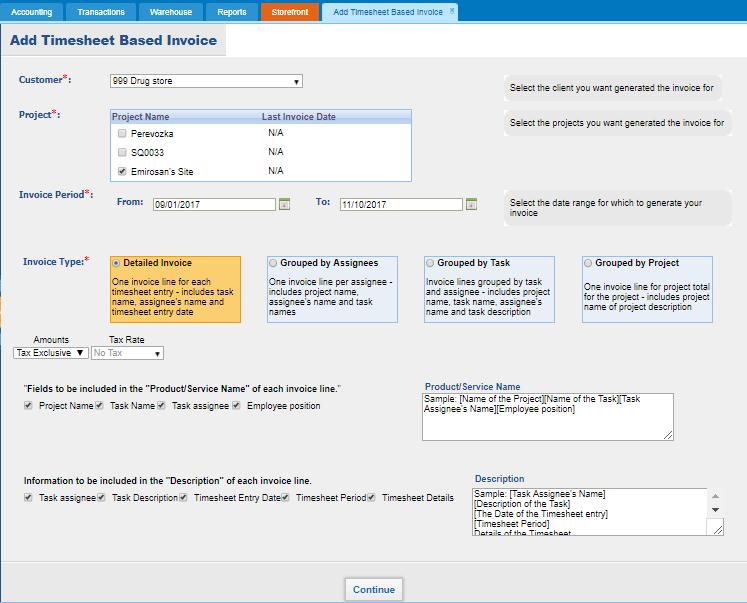Timesheet Invoice Kpicom - Timesheet and invoice